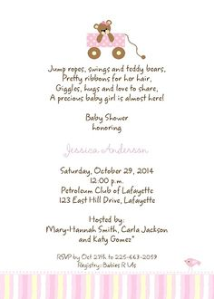 Welcome baby shower invitation wording ideas showers for babies baby shower invitation wording wording for baby shower invitations filmwisefo
