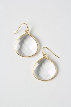 Polished Planes Earrings By Anthropologie