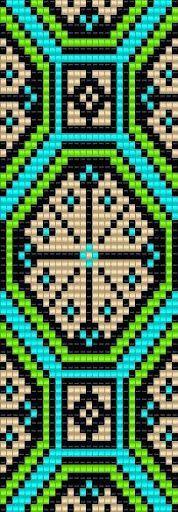 Beadwork pattern #heartbeadwork #loomstitch