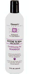 Hansens Soothe N Heal Dog Shampoo 12oz ** Want to know more, click on the image. (Note:Amazon affiliate link) #DogGrooming