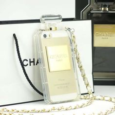 Chanel Perfume Bottle Iphone 6 case for screen size 4.7 inch, a very popular phone case, with gold exquisite chain, made by high quality soft silicone materials. http://www.oz3ds.com/product.php?id_product=379