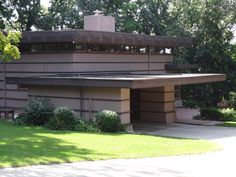 The James McBean Residence is the third of three homes in Rochester, MN designed by noted architect Frank Lloyd Wright. Built in Rochester Minnesota, Lloyd Wright, Clinic, Third, Homes, History, Building, Outdoor Decor, Design