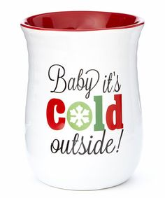 Look what I found on #zulily! 'Cold Outside' Mug #zulilyfinds
