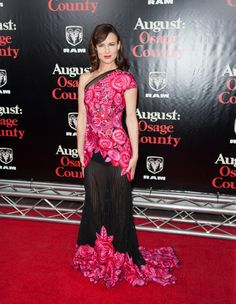 Juliette Lewis at the premiere of 'August: Osage County' in NYC. Styling by Ilaria Urbinati.
