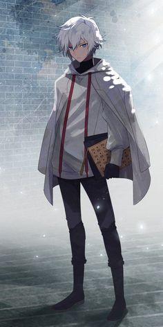 Manga boy white hair - Rebel Without Badass Anime, Cool Anime Guys, Handsome Anime Guys, Hot Anime Boy, Anime Boys, Anime White Hair Boy, Manga Boy, Chica Anime Manga, Young Wizard