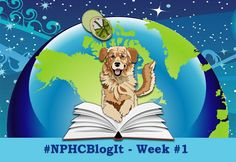 It's November 2nd and NPHCBlogIt has officially begun. Be sure to follow the #NPHCBlogIt Twitter hashtag to read and contribute to the weekly questions. There's still time to join. Email Jena Ball at JenaBall@CritterKin.com