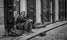 Street Beggar by PaulRogersF11 Street Photography #InfluentialLime
