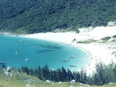 Praia da Ilha do Farol - Foto: Pousada Rayer Land- Brasil -Arraial do Cabo