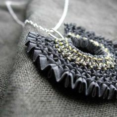 beautiful smocked jewelry....makes me wonder if I could make it.