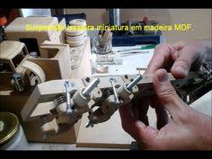 Caminhão miniatura madeira Peterbilt part 1 como fazer - YouTube
