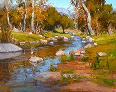 Hidden Valley Crossing by Jim Wodark Oil ~ 24 x 30