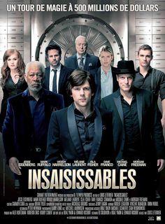 """Insaisissables Film de Louis Leterrier. """"Les Quatre Cavaliers"""", de brillants magiciens et illusionnistes, viennent pour deux spectacles de magie."""