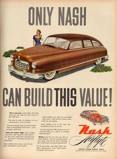 ad for the Nash Airflyte from 1949