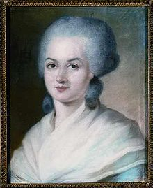 Olympe de Gouges,  (Marie Gouze * 7. Mai 1748 in Montauban; † 3. November 1793 in Paris, executed)  A brave woman, who fought for women's rights - which was unfortunately way too progressive for her time...