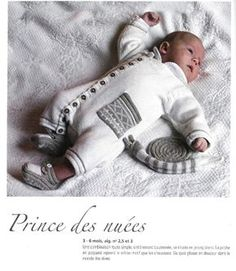 Bébé chic Marie-Claire Baby Knitting Patterns, Baby Patterns, Marie Claire, Baby Overall, Crochet Magazine, Baby Cardigan, Baby Booties, Baby Wearing, Little Ones