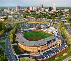 Winston-Salem, NC, Dash Baseball...Really nice stadium