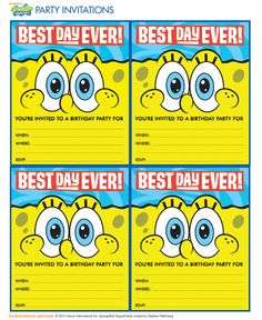 http://www.nickelodeonparents.com/spongebob-best-day-ever-party-invitations/