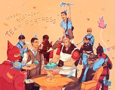 FORT YEAH TEAM FORTRESS 2