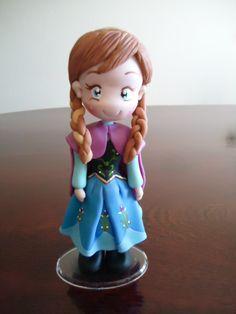 Anna Frozen, topo de bolo, biscuit