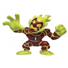 Ben 10 Mini Figurines SD Single Series 1 - Heatblast $3