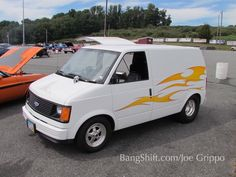 Mid engined Chevy Astro