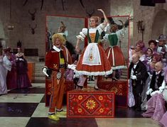Dick Van Dyke, Sally Ann Howes, Doll on a Music Box, Chitty Chitty Bang Bang