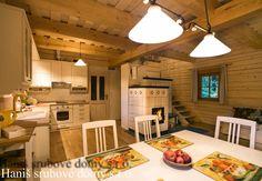 Roubenka Jana | Srubové domy Haniš s.r.o. Converted Garage, Home Kitchens, Cottage, Country, House, Home Decor, Art, Homes, Chalets