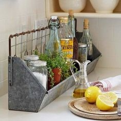Kitchen Storage Ideas, got be on look out for something like this!