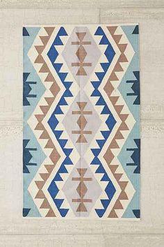 Plum & Bow Samarkand Kilim Woven Rug - Urban Outfitters $199 5x7