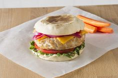 Time to think outside the buns and make a burger for breakfast! Time to make the Turkey Burgers with Cheddar on English Muffins a breakfast staple! Cooking Turkey Burgers, English Muffins, Dinners, Meals, Breakfast Bites, Recipe Of The Day, Turkey Recipes, Salmon Burgers, Cheddar