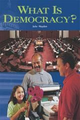 Rigby Focus Fluency Leveled Reader 6pk Nonfiction (Levels L-O) What Is Democracy?