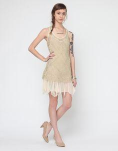 Golden Enchantment Dress