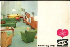 Ikea Katalog 1961., Text: schwedisch.: Ikea: