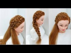 Prom Hairstyles for Long or Medium Hair - YouTube