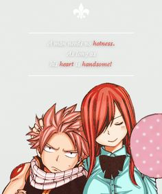 Erza Scarlet and Natsu Dragneel Fairy Tail Love, Arte Fairy Tail, Fairy Tail Family, Fairy Tail Girls, Fairy Tail Ships, Fairy Tail Erza Scarlet, Natsu Fairy Tail, Fairy Tail Anime, Fairytail