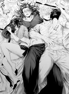 Handsome Anime Guys, Cute Anime Guys, Cute Anime Couples, Anime Boyfriend, Fanarts Anime, Anime Demon, Otaku Anime, Yandere, Manga Art
