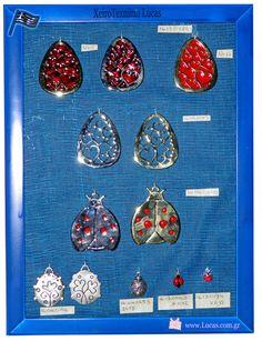 Μεταλλικά διακοσμητικά στοιχεία με σμάλτο αυγά και πασχαλίτσες. Greek metal Easter charms eggs and ladybugs. Drop Earrings, Jewelry, Souvenir, Jewlery, Jewerly, Schmuck, Drop Earring, Jewels, Jewelery