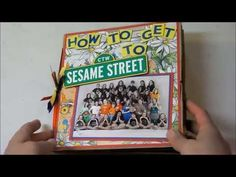 How to get to Sesame Street! 8x8 paper bag album - YouTube