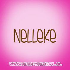 Nelleke  (Voor meer inspiratie, en unieke geboortekaartjes kijk op www.heyboyheygirl.nl)