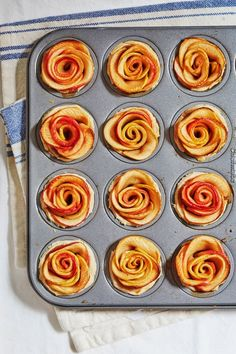 These Mini Apple Rose Pies are perfect for you and you SO on Valentine's day this year. Or make them for a pretty in pink Galentine's day! EASY to bake, sweet, and savory all in one. Did we mention trendy? Enjoy!