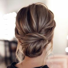15 Stunning Low Bun Updo Wedding Hairstyles from Tonyastylist cla. - 15 Stunning Low Bun Updo Wedding Hairstyles from Tonyastylist classic updo wedding h - Wedding Hairstyles For Long Hair, Wedding Hair And Makeup, Long Hairstyles, Low Bun Wedding Hair, Chignon Updo Wedding, Hair Updos For Medium Hair, Simple Wedding Updo, Medium Length Hair Updos, Classic Updo Hairstyles