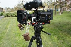 My lovely Vocas shoulder rig. By Alister Chapman (@Stormguy)
