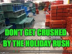 #MaterialHandling #WeCanHelpWednesday Prepping for the holiday rush? Our goal is to help you. You can count on WPRP to deliver complete and on time. Every time. http://www.wprpwholesalepalletrack.com