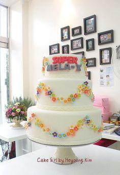 멜라 X 케익-아름다운 화장품 by Cake Girl by Hyeyoung Kim, via Flickr Cake Girls, Girl Cakes, Communion, Desserts, Ideas, Cakes, Tailgate Desserts, Deserts, Postres