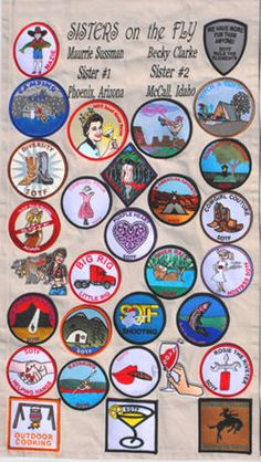merit badges @sistersonthefly