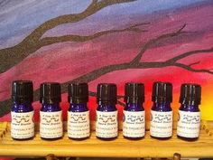 ALL-NATURAL Chakra Oil Blends:  A Set of Seven Blends for the Mind, Body and Spirit