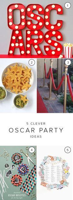 Clever oscar party ideas