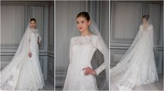 Gorgeous victorian style wedding dress