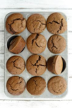 Make this amazing Gingerbread Muffin Recipe by top Houston lifestyle blogger Ashley Rose of Sugar and Cloth #gingerbread #muffins 3breakfast #dessert