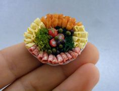 Food Miniatures by Shay Aaron